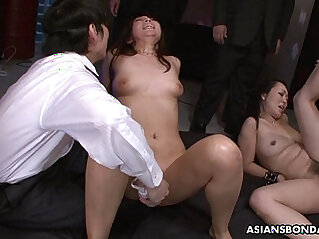 Squirting like crazy and she sucks cocks
