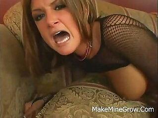 Awesome Blonde Single Mom Sucked A Large Cock And Got Cumshot