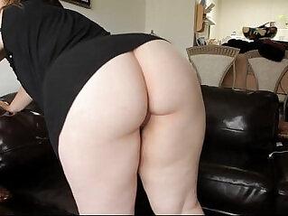 Big Ass Pale BBW Takes Black Cock