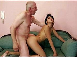 Grandpa rear fucking dirty amateur slut
