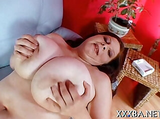 Sultry darling shares her big billibongs