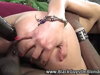 Interracial loving slut fucks big black big cock