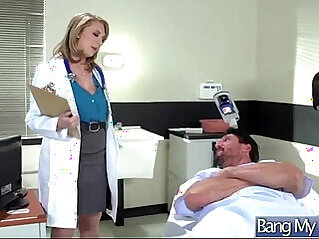 Hard Sex Tape With mind Doctor seduce and Bang Horny Patient movie