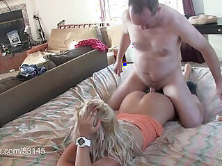 Sexy young Blonde Massaged and Creampied HD