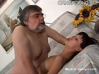 Italian dad fucks her young daughter