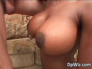 Exotic ebony slut with big ass