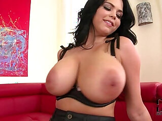 Busty Babe Shione Cooper Crams Her Snatch With Vibe