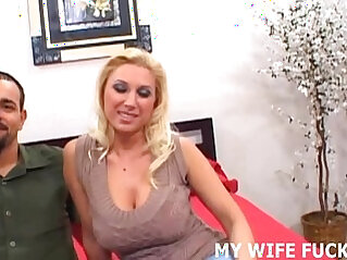Your wife loves big male cock