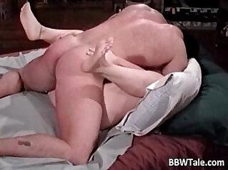 Chubby wife cheating her husband