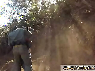 Caught littering fake cop first time Kayla West was caught lusty