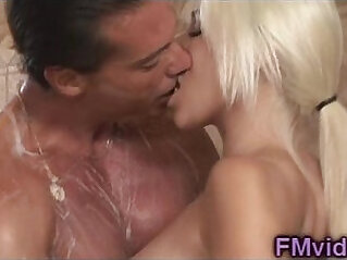 Blonde Stevie Shae sucks