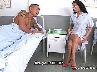 Nurse Feet foot Fetish at the Hospital