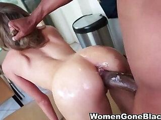 Kinky Teen sucking and Fucking Huge hard Dick