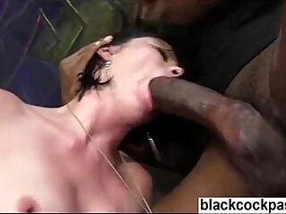 Veruca James interracial hardcore gangbang with blacks