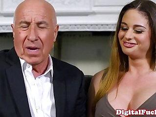 Gorgeous latina voyeur joins fuck