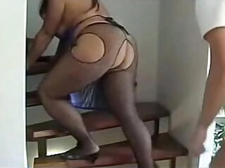 Busty Big Ass Turk Memnune Demiroez gets doggy fucked in nylons