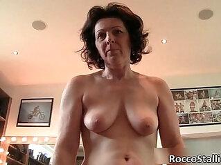 Hot big boobed MILF whore