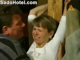 Lady gets undressed by two rs
