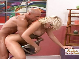 Dirty British Tight little Pussy Dominated