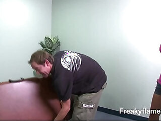 Slim amateur Whore after massage eager to suck last drop of cumshot