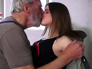 Such an innocent petite pussy for an old horny grandpa