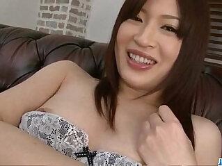 Riko Oshima amateur schoolgirl sucks and fucks cock crazy
