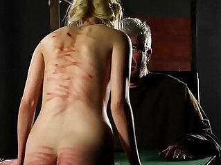 The Girl Love Skinny blonde gets in trouble