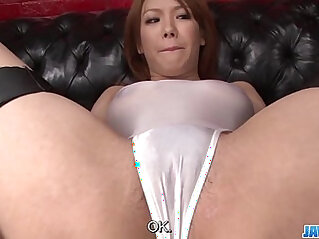 Subtitles Japanese beauty Rei gets dick in her nice pussy