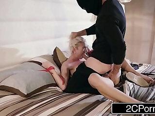 Horny Teen Slut Eliza Jane Rough Fuck By The House Burglar
