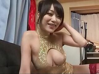 Subtitled Japanese lewd woman striptease Akari Hoshino