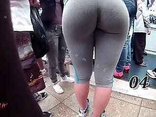 Candid Booty Bubble Butt Culo Brazil Thick Curvy Pawg BBW Ass Premium